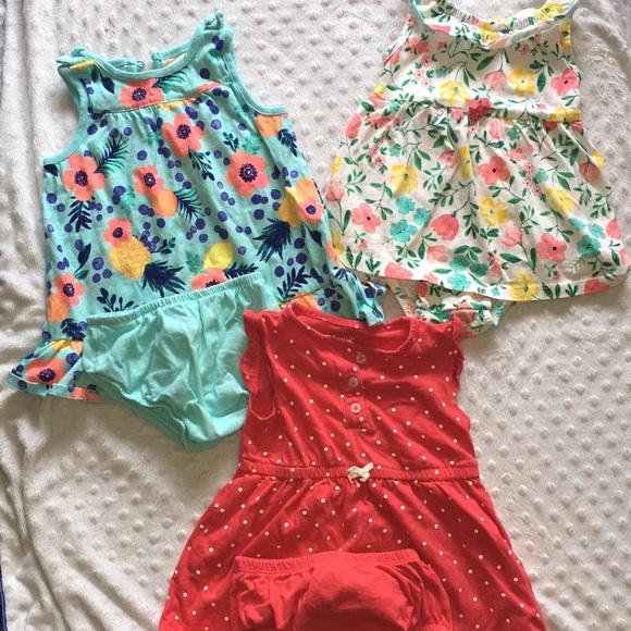 Other - Super cute infant dresses (set of 3)